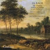 Bach: Sonatas for Solo Violin, Nos. 1 - 2; Partita No. 1 by Jacqueline Ross