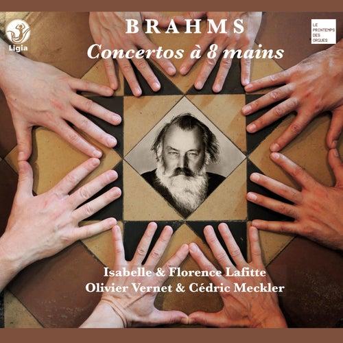 Brahms: Concertos à 8 mains von Olivier Vernet