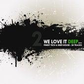 We Love It Deep - Finest Tech & Deep-House Vol. 2 by Various Artists