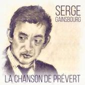 La chanson de Prévert von Serge Gainsbourg