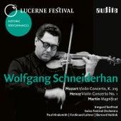 Lucerne Festival Historic Performances: Wolfgang Schneiderhan by Various Artists