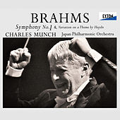 Brahms: Symphony No. 1 & Variation on a Theme by Haydn by Japan Philharmonic Orchestra