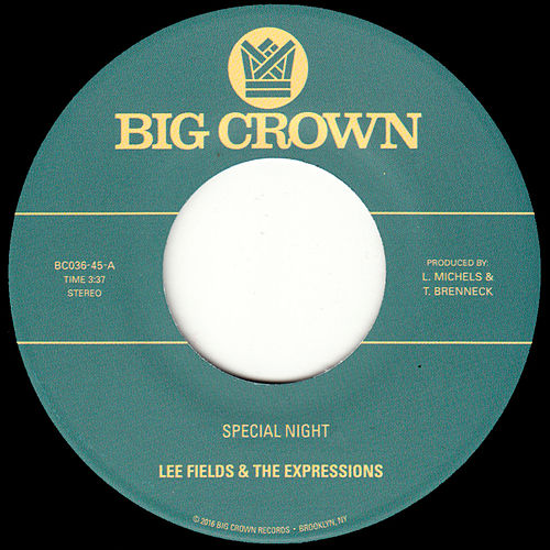 Special Night by Lee Fields
