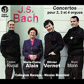 Bach: Concertos for 2, 3 and 4 Organs, BWV 1060, 1061, 1062, 1604 & 1605 by Nicolas Mazzoleni