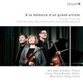 À la mémoire d'un grand artiste: Piano Trios by Tchaikovsky, Rachmaninoff & Goldenweiser by Michael Schäfer