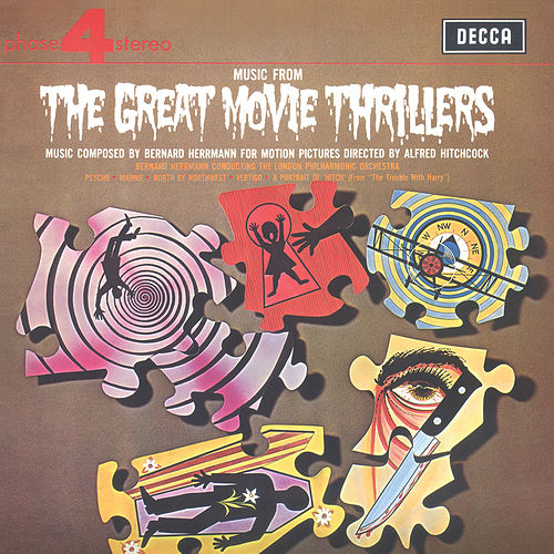 Music From The Great Movie Thrillers by London Philharmonic Orchestra