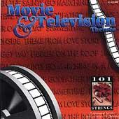 Movie & Television Themes by 101 Strings Orchestra