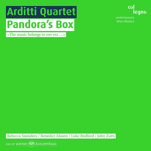 Pandora's Box by Arditti Quartet