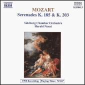 Serenades K. 185 and K. 203 by Wolfgang Amadeus Mozart