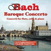 J.S. & C.P.E. Bach: Concerti for Flute, Cello & Piano by Volker Hartung