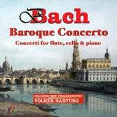 J.S. & C.P.E. Bach: Concerti for Flute, Cello & Piano by Volker Hartung