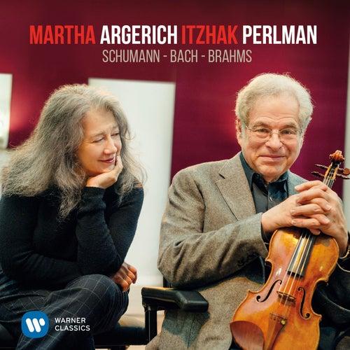 Perlman & Argerich play Schumann, Bach & Brahms by Itzhak Perlman
