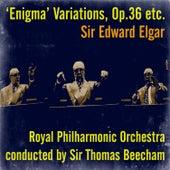 Sir Edward Elgar: 'Enigma' Variations, Op.36 etc. by Sir Thomas Beecham