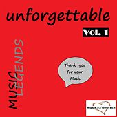 Music Legends - Unforgettable, Vol. 1 (Thank You for Your Music) by Various Artists