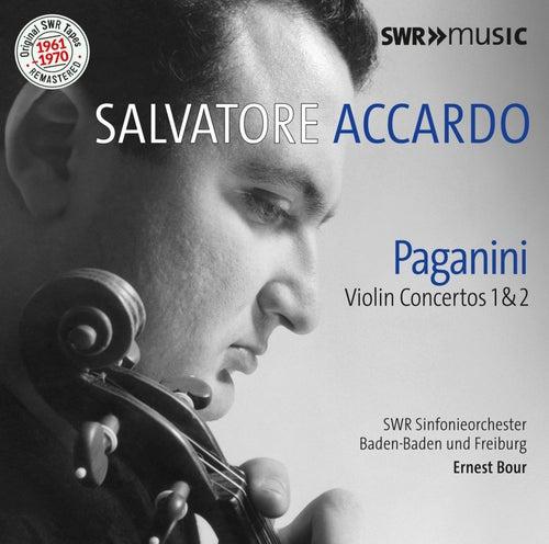 Paganini: Violin Concertos Nos. 1 & 2 by Salvatore Accardo