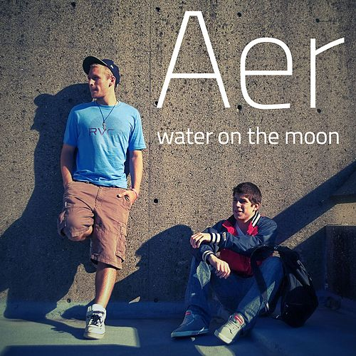Water on the Moon by AER