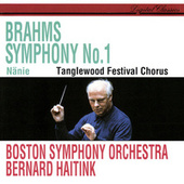 Brahms: Symphony No. 1; Nänie by Various Artists