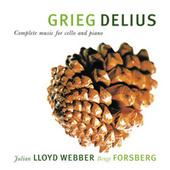 Grieg & Delius: Complete Music For Cello And Piano by Julian Lloyd Webber