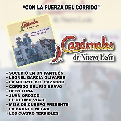 Con La Fuerza Del Corrido by Cardenales De Nuevo León