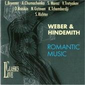 Weber & Hindemith: Romantic Music by Natalia Gutman