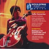 Shostakovich & Schnittke: Natalia Gutman Portrait Series, Vol. I by Natalia Gutman