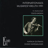 Bach, Brahms & Grieg: Kagan Music Festival Kreuth by Natalia Gutman