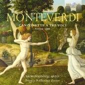 Monteverdi: Canzonette a tre voci, Venice 1584 by Franco Radicchia