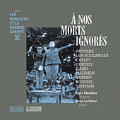 À nos morts ignorés (Les musiciens et la Grande Guerre, Vol. 15) by Anne Le Bozec