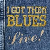 I Got Them Blues, Live! von Various Artists