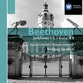 Beethoven: Symphonies Nos 1-3 & 8 by Wolfgang Sawallisch