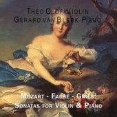 Mozart - Faure - Grieg: Sonatas for Violin & Piano by Gerard van Blerk