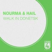 Walk in Donetsk by Hail