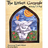 Littlest Gargoyle Book and Audio Cd by Angelina