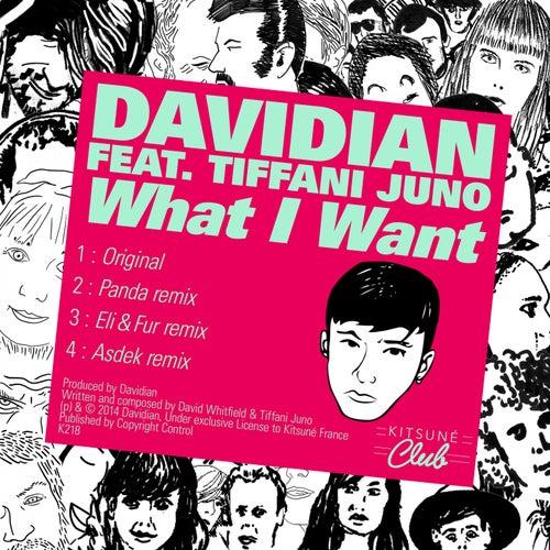 Kitsuné: What I Want (feat. Tiffani Juno) [Bonus Track Version] - EP by Davidian