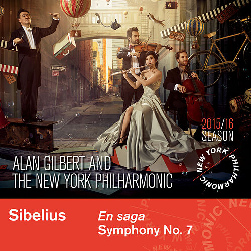 Sibelius: En Saga and Symphony No. 7 by New York Philharmonic