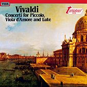 Vivaldi: Concerti for Piccolo, Viola d'Amore and Lute by Various Artists