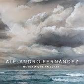Quiero Que Vuelvas by Alejandro Fernández