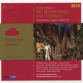 Wagner: Die Meistersinger von Nürnberg, WWV 96 (Semperoper Edition, Vol. 6) by Various Artists