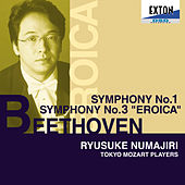 Beethoven: Symphony No. 1 & No. 3 by Tokyo Mozart Players