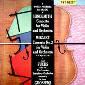 Hindemith: Violin Concerto - Mozart: Violin Concerto No. 3 by Joseph Fuchs