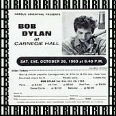 Carnegie Hall, New York, October 26th, 1963  (Remastered, Live) von Bob Dylan