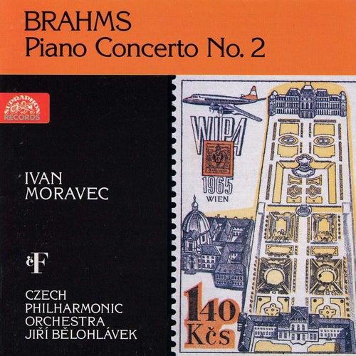 Brahms: Piano Concerto No. 2 by Ivan Moravec
