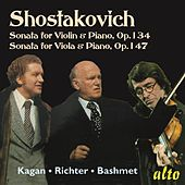 Shostakovich Sonatas Violin & Viola Op. 134 & 147 by Various Artists
