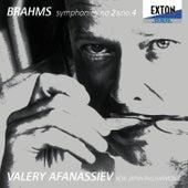 Brahms: Symphony No. 2 & No. 4 / Afanassiev, New Japan Philharmonic by New Japan Philharmonic