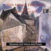 Schubert - Brahms - Bartok: Sonatas for Violin and Piano by Emmy Verhey