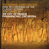 The Indiana Jones Trilogy - New Recordings From Classic Scores by City of Prague Philharmonic