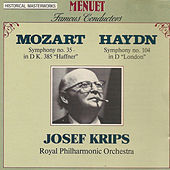 Famous Conductors: Josef Krips by Royal Philharmonic Orchestra