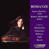 HINDEMITH: Viola Sonata  / SCHUMANN: Marchenbilder by Karen Dreyfus