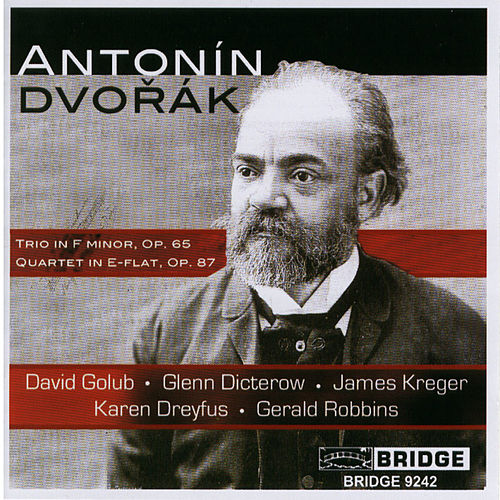 DVORAK: Piano Trio No. 3 / Piano Quartet No. 2 by Various Artists