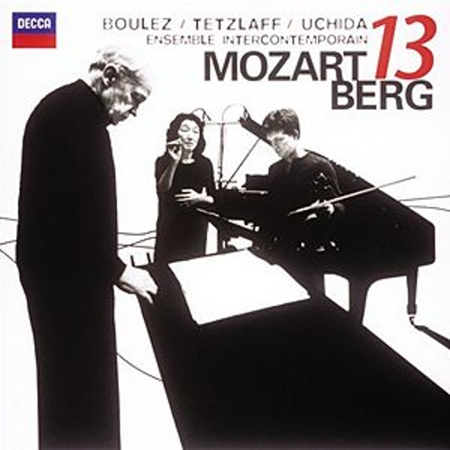 Mozart: Gran Partita / Berg: Kammerkonzert by Various Artists